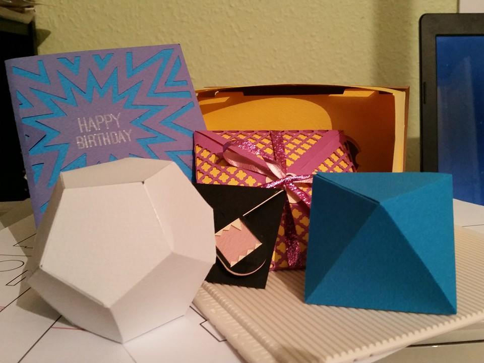 Paper Crafting Projects samples