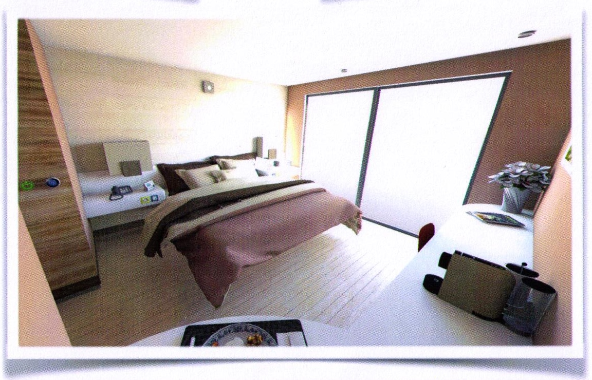 Universal design for 4 stars hotel rooms pangloss labs for Design hotel 4 stars